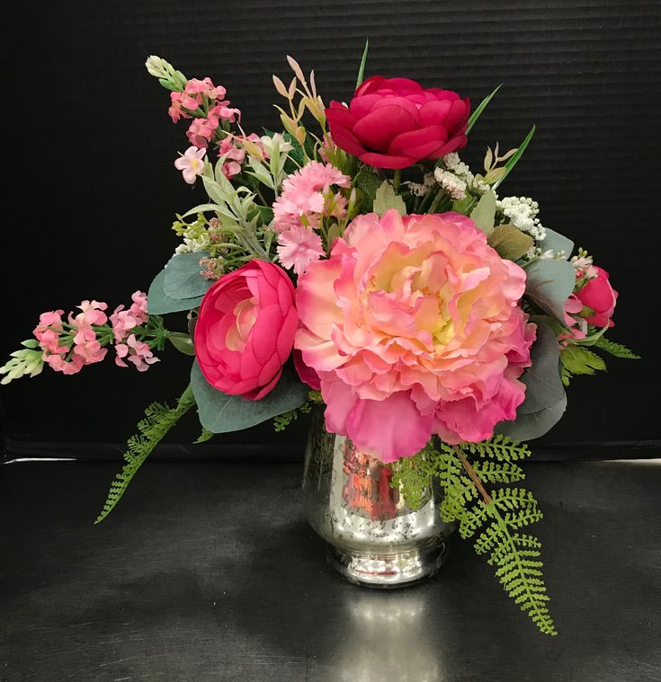 Sweet Pink Mothers Arrangement by Andrea