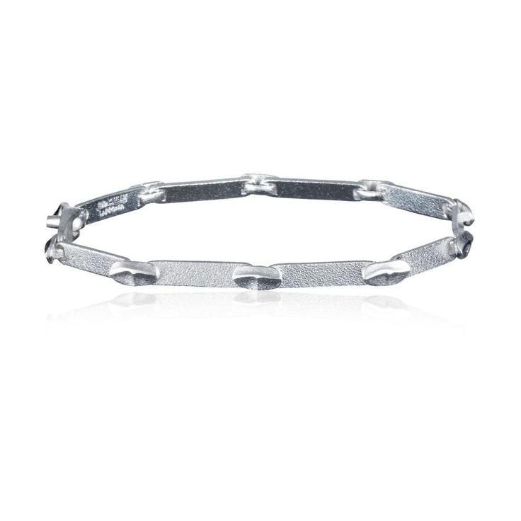LABYRINTH  Design Björn Weckström / Silver Bracelet / Lapponia Jewelry / Handmade in Helsinki