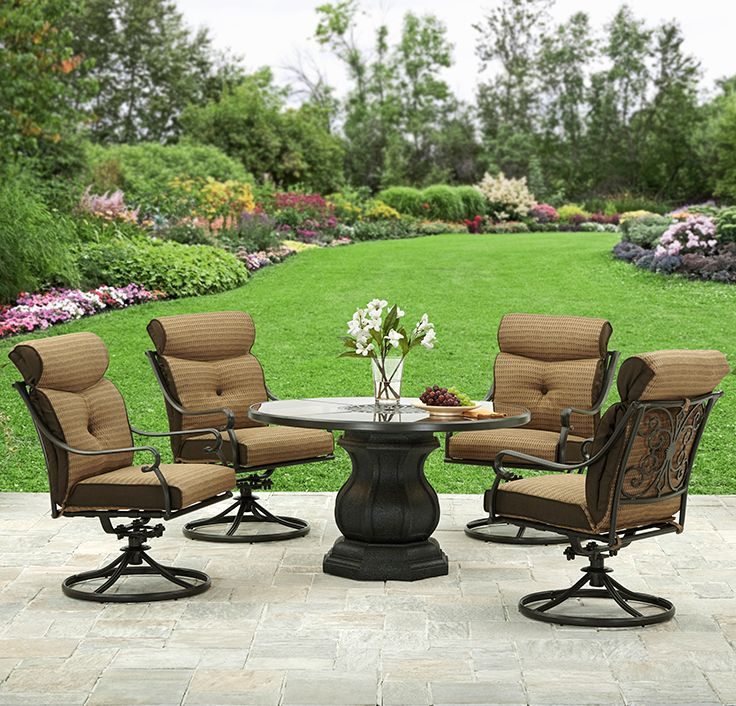 Better Homes and Gardens Bailey Ridge 5pc Dining Set  Patio SetsBetter. 212 best Outdoor Living images on Pinterest