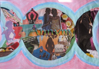 Libra Moon Collage By Michelle Buckley