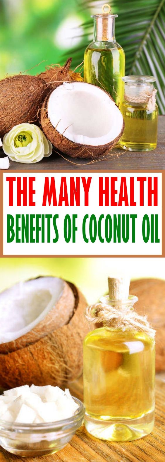 The Many Health Benefits of Coconut Oil