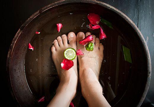 Foot Soaks Ή Αλλιώς Ποδόλουτρα