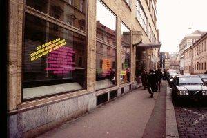 Derek Walker. Prague window gallery
