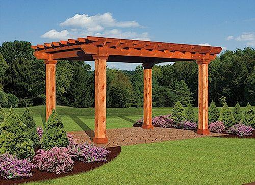 14 Best Wood Pergolas Images On Pinterest Wood Pergola Wooden Pergola And Arbors