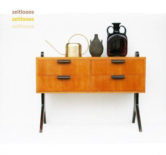 Sideboard Dresser Mid Century Professor Reinhold by zeitlooos