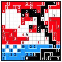 Color Link-a-Pix - step 5 (B)