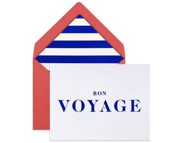 BON VOYAGE | Not every farewell is a good-bye. Every new journey is to be celebrated and a touch of style certainly won't hurt either!