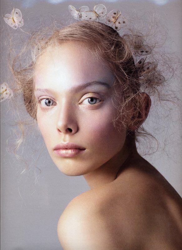 Magazine: V US  Featuring: TanyaDziahileva  Ethereal and beautiful soft pastel m
