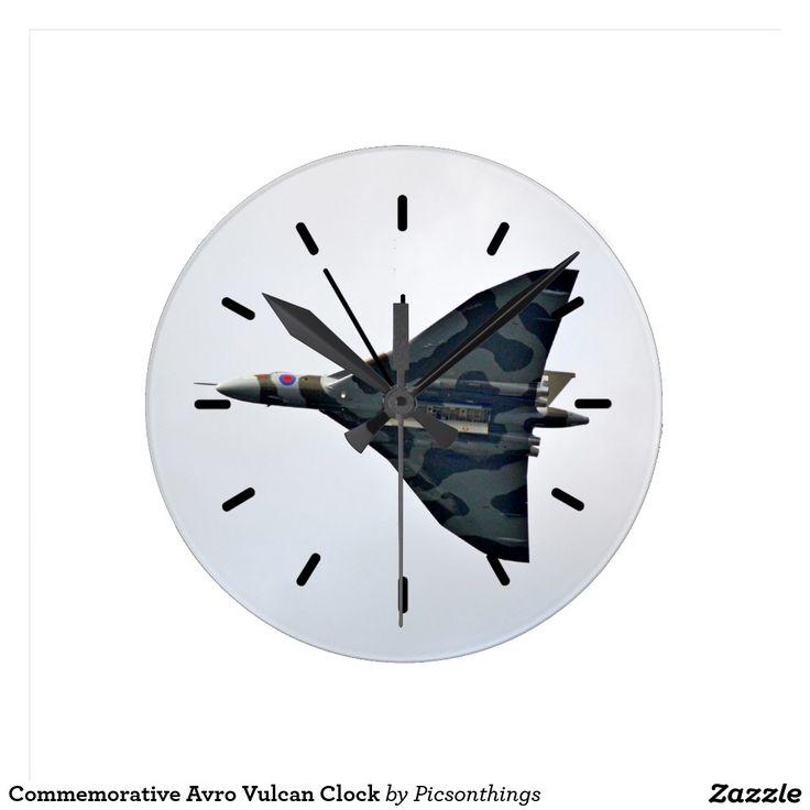 Commemorative Avro Vulcan Clock