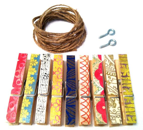 Hey, I found this really awesome Etsy listing at https://www.etsy.com/listing/158468305/photo-clothesline-kit-boho-chic-rustic