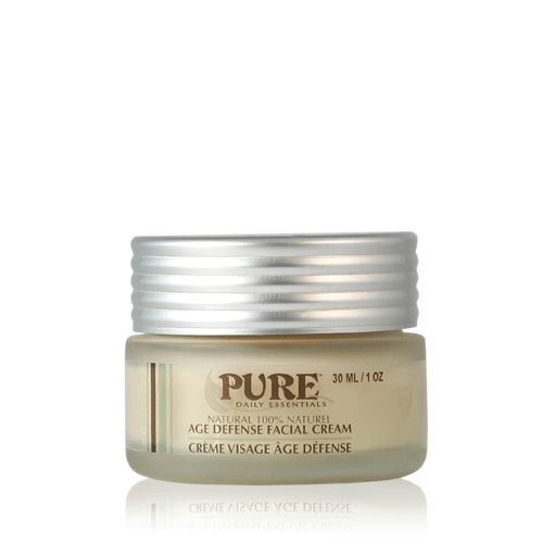Age Defense Facial Cream - Our delicately selected oils are blended to achieve a cream simple enough for day and night yet rich enough to aid your skin's natural regenerative cycle.   - See more at: http://www.puredailyessentials.com/facial/age-defense-facial-moisturizer.html
