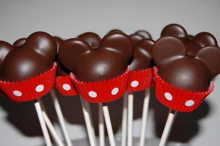 Mickey Mouse Cake Pops | The Party Mama: My Mickey Mouse crazed birthday boy