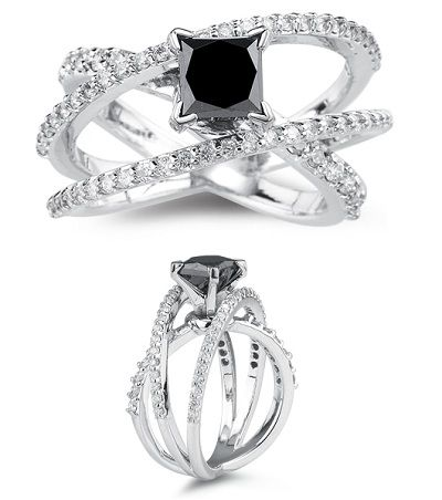 Black diamond ring this could so be my wedding ring...