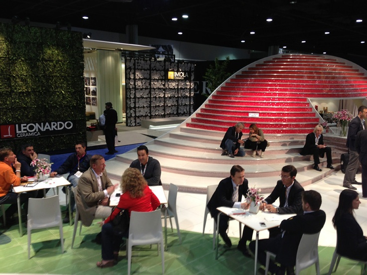 Lunch in Piazza Ceramica @Coverings Trade Show Show