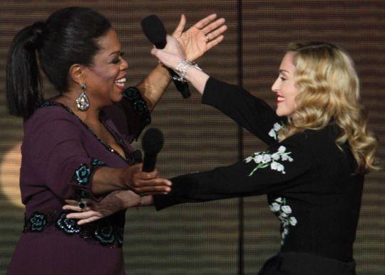 Oprah + Madonna