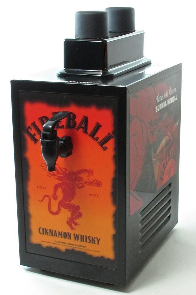 fireball whiskey dispenser machine