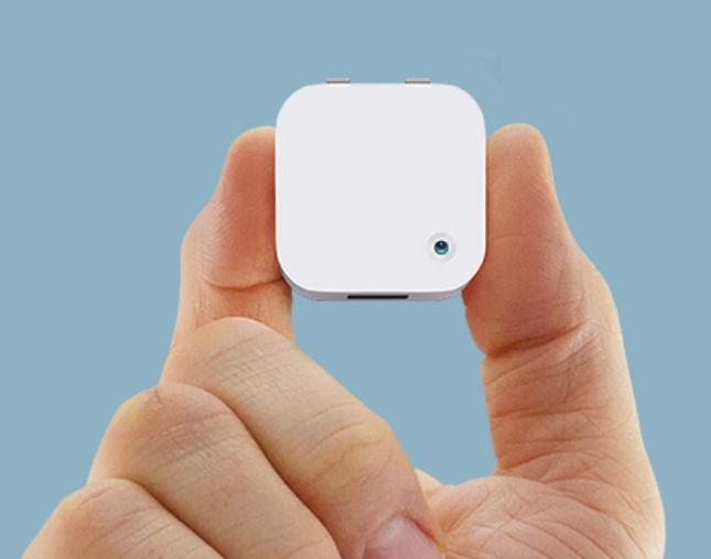 Film your entire day with this mini gadget.
