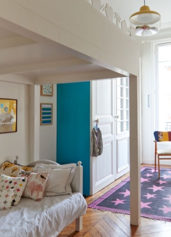 """This nice girls bedroom is from our feature """"Paris tres Jolie"""""""