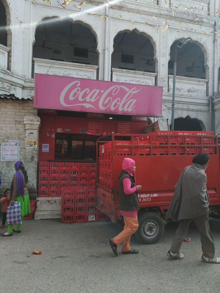 Coke is Every where too!