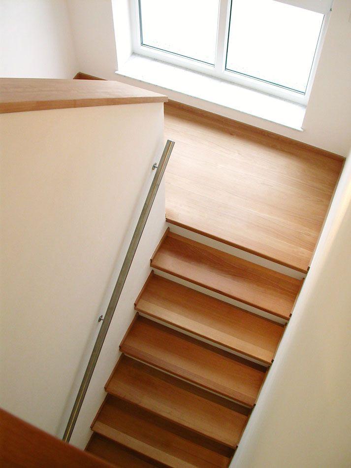 Betontreppe mit Holz 10 | Treppenbau Becker