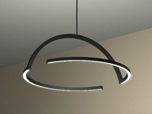 2D LED PENDANT LAMP BY DING3000.