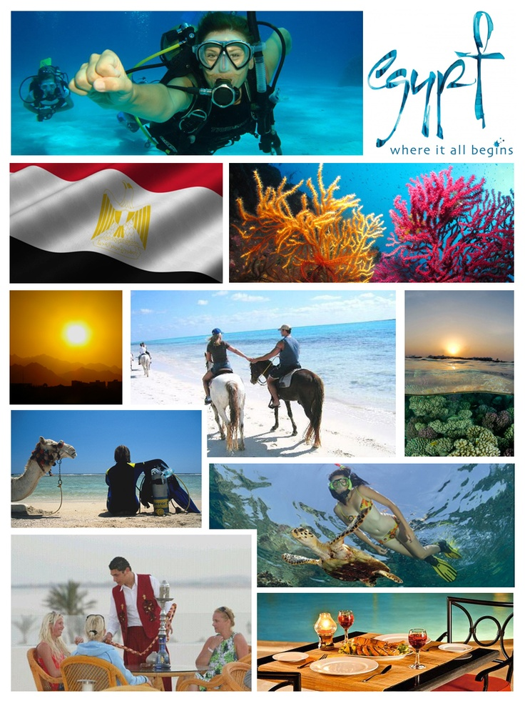 Red sea - Egypt ... The Red Sea is a seawater inlet of the Indian Ocean, lying between Africa and Asia.