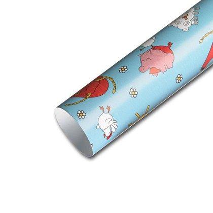 Presentpapper av hög kvalitet. Bredd 57 cm, flera olika mönster.