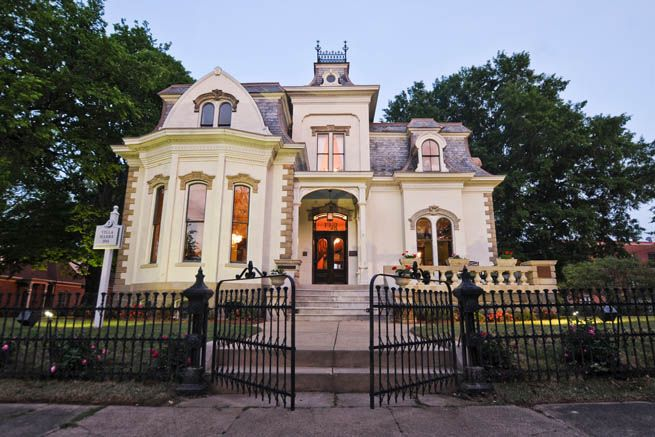The Villa Marre is located in Little Rock, Arkansas. The Villa Marre was the fictional office of Sugarbaker Designs on the TV show Designing Women. It was built as a private residence in 1881 by the Marre Family. It now serves as a popular wedding venue.