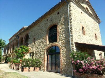 Propriété avec gîtes et Chambres d'hôtes à vendre au sud d'Alès dans le Gard