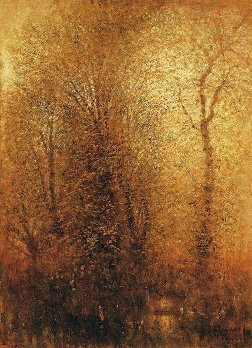 László Mednyánszky,In the Woods, n.d.
