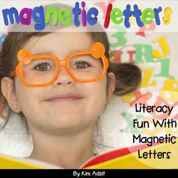 This easy to print unit will keep your magnetic letters stocked with a plethora of activities. The pack includes both color and black and white versions of every activity. The activities included are: 3 sorting mats, 36 abc order cards, 25 beginning sound cards, 16 ending sound cards, 9 word family cards (each card with 4 words), 25 cvc cards, 12 word ladder cards (each with 4 words), and 78-2 and 3 letter sight word magnify it cards.