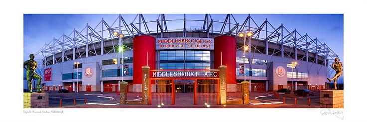 Middlesbrough FC Legends | GED HICKEY LANDSCAPE PHOTOGRAPHER #Teesside #Cleveland #NorthEast