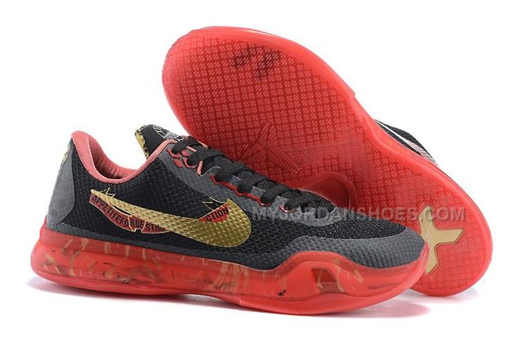"""http://www.myjordanshoes.com/return-of-the-king-nike-kobe-10-bright-crimson-blackredgold-x-outlet.html RETURN OF THE KING NIKE KOBE 10 """"BRIGHT CRIMSON"""" BLACK/RED/GOLD X OUTLET Only $99.00 , Free Shipping!"""