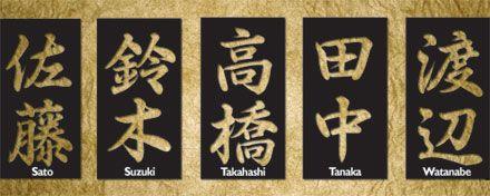 ۞Uzukashi Ogawa ۞: A origem dos sobrenomes japoneses