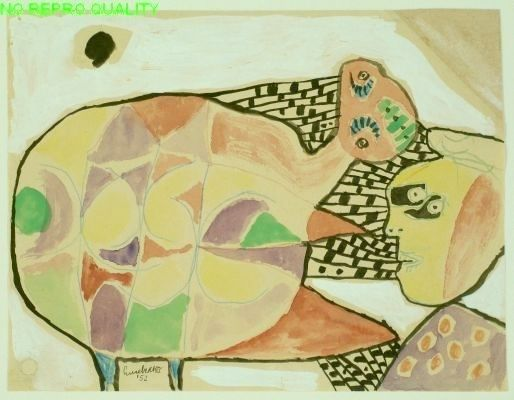 Lucebert: (zonder titel), 1952