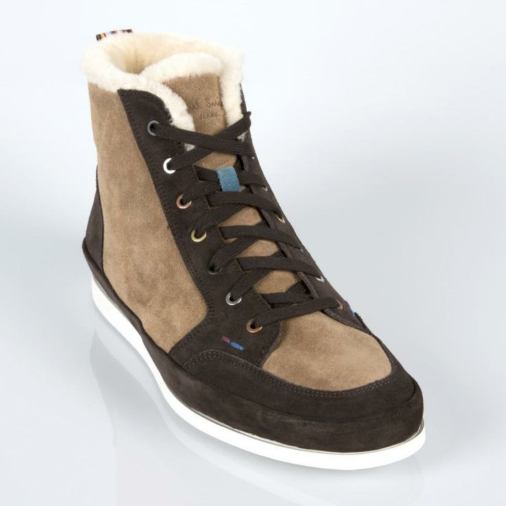 Paul Smith Brown Suede Cobb Shoes