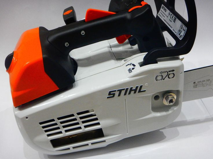 "Stihl MS 201 TC-M 14"" 35 cm 1,8kW top handled chainsaw with M-Tronic ! New !"