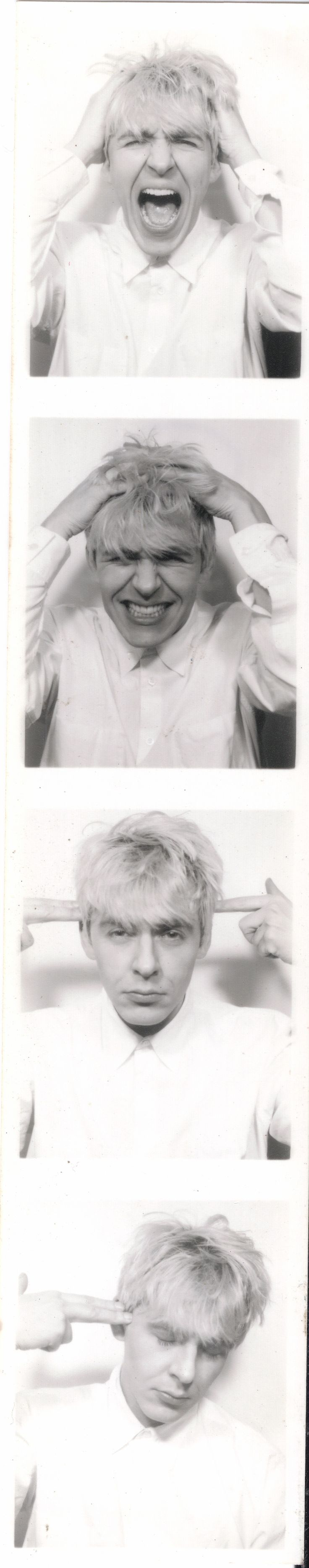 Duran Duran (the Wedding Album) - photo-booth shots, released for 20th anniversary - Nick Rhodes