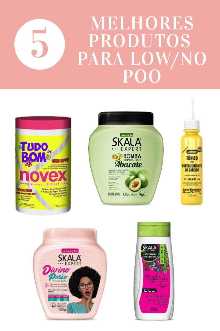 Os 5 Melhores Produtos Liberados Para No Low Poo Com Imagens