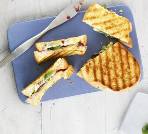 Stilton & cranberry toastie