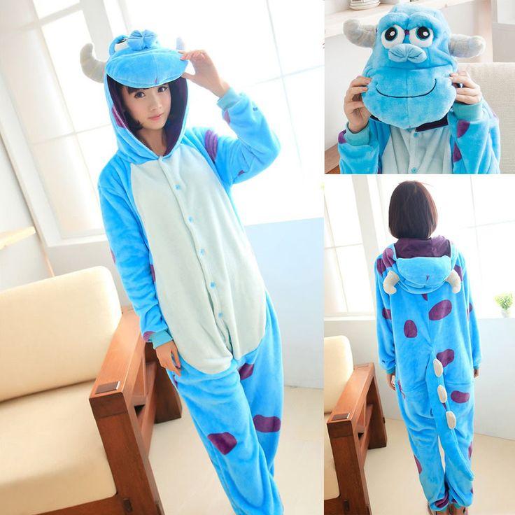 PajamasBuy - Animal Adult unisex Blue Sully Monster Onesies kigurumi Pajamas, CA$34.93 (http://www.pajamasbuy.com/animal-adult-unisex-blue-sully-monster-onesies-kigurumi-pajamas-christmas/)
