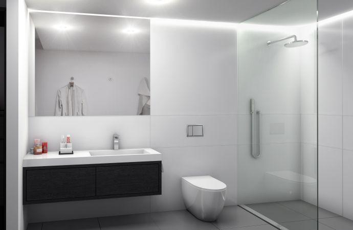 Bathroom featuring Seratone Life Polar