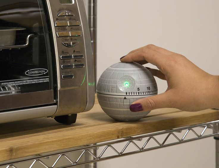 Use the power of the force to make sure all of your food is cooked to perfection with the #StarWars #DeathStar #Kitchen Timer with sounds