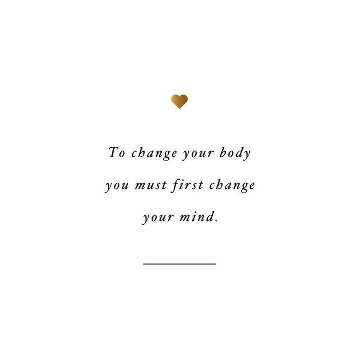 Change your mind! spotebi Fitness Quote Motivation Inspiration