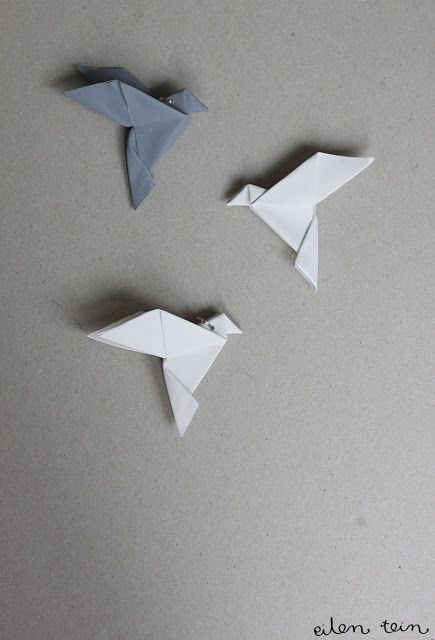DIY Origami Dove