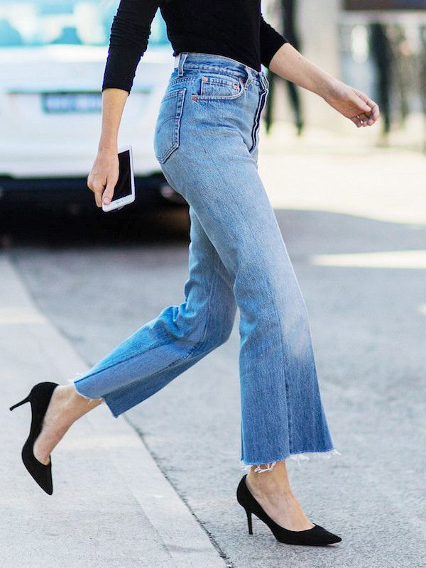 Raw hems are undoubtedly the season's top denim trend. From cropped iterations to flares, we've found the best styles to shop now. Find your perfect pair (or two!) from one of our top selections.