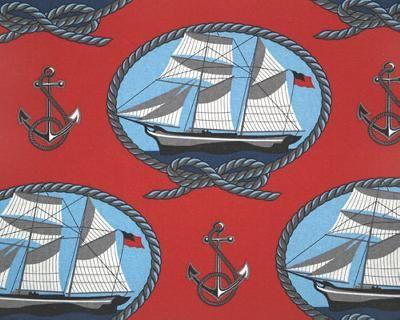 Ahoy Curtain FabricMatching, Heights Fabrics, Kids Room, Fabrics Collection, Curtains Fabrics, Nautical Room, Nautical Fabrics, Brasen Room, Sailing Fabrics
