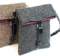 vintage harris tweed bags