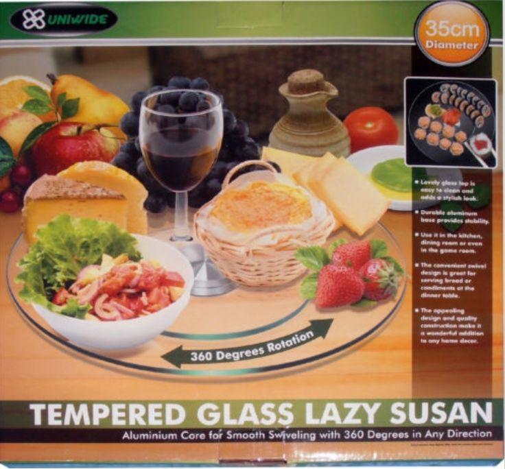 #Glass #Lazy #Susan #Turntable - 50cm