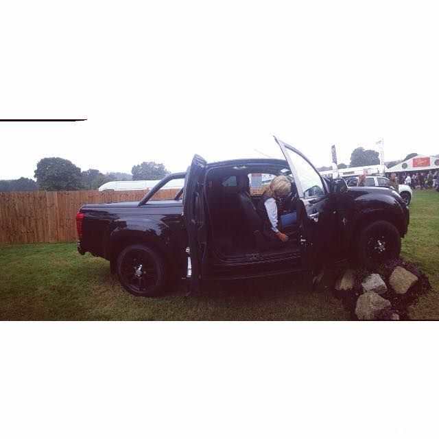 What did you do the Weekend? We were at the Midland Game and Country Fair! #isuzu #midlands